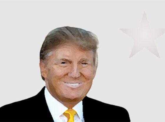 Trump star cartoon by Baret News